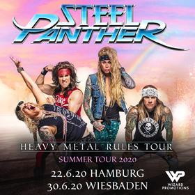 Bild: STEEL PANTHER - Heavy Metal Rules Summer Tour 2020