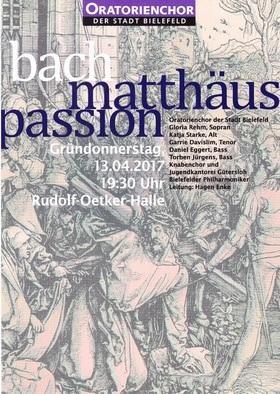 Bild: Oratorienchor der Stadt Bielefeld e.V. - Johann Sebastian Bach - Matthäus – Passion - BWV 244