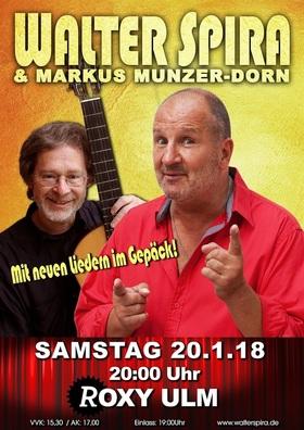 Bild: WALTER SPIRA & MARKUS MUNZER-DORN - mit neuen Liedern