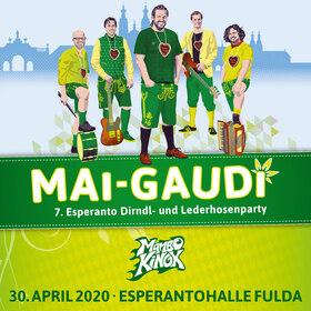 MAI-GAUDI - 7. Esperanto Dirndl- und Lederhosenparty