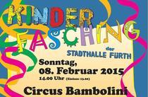 Kinderfasching 2015 - Circus Bambolini