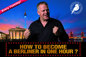 Bild: Karsten Kaie: How to become a Berliner in one hour! - Show im Prenzlauer Berg