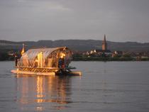 Bild: Felchenfahrt mit dem Solarschiff Helio - Felchenwochen einmal anders: