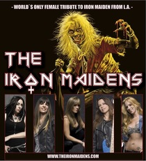 Bild: The Iron Maidens (USA) - World´s Only Female Tribute to Iron Maiden from L.A. -