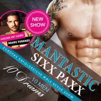MANTASTIC Sixx Paxx - 10 MEN - 10 DREAMS
