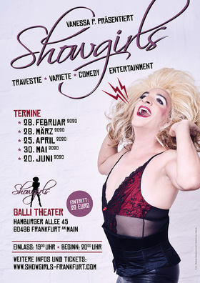 """showgirls Frankfurt"" by Vanessa P. - Gastspiel im Galli Theater Frankfurt"