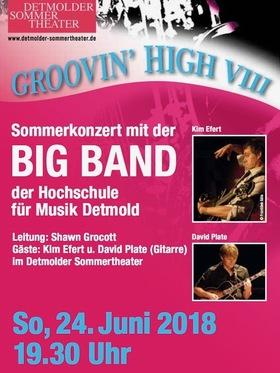 Bild: Groovin´ High - Sommerkonzert der HfM Big Band