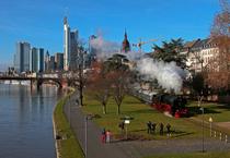 Bild: Hafenbahn Frankfurt am Main - Fahrkarten für die Saison 2016