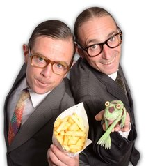 Bild: The Wallstreet Theatre - Frog'n'chips