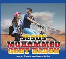 Bild: Jesus Mohammed geht baden