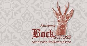 Bild: Pforzemer Bockschuss - Satirischer Starkbieranstich
