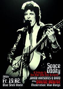 Bild: SPACE ODDITY - JAKOB HANSONIS & BAND play DAVID BOWIE - Moderation: ALAN BANGS
