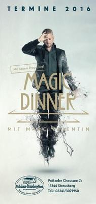 Magic Dinner - neues Programm