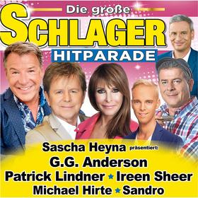 Bild: Deutsches Musikfernsehen präsentiert: Die große Schlager Hitparade - mit Sascha Heyna, Bernhard Brink, Calimeros, Julia Lindholm, Daniela Alfinito