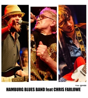 Bild: The HAMBURG BLUES BAND - mit Chris Farlowe und Krissy Matthews