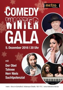 Bild: COMEDY WINTER GALA - Der Obel, Tahnee, Suchtpotenzial, Herr Niels