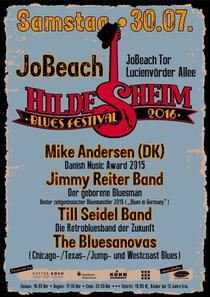 Bild: BLUES FESTIVAL HILDESHEIM - mit Mike Andersen (DK), Jimmy Reiter Band, Till Seidel Band, The Bluesanovas