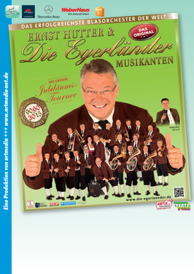 Bild: Ernst Hutter & Die Egerländer Musikanten - Das Erfolgreichste Blasorchester der Welt ***