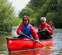Bild: Stadt - Land - Fluss - Kanu-Tour