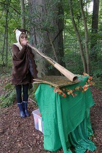 Bild: Luise und das magische Buch - Unser diesjähriges Waldmärchen!
