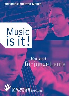 Bild: Music is it! - Konzert für junge Leute