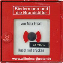 Bild: Max Frisch: Biedermann und die Brandstifter