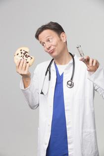 Bild: Dr. Carsten Lekutat - Geschichten aus der Hausarztpraxis - oder: Wie Kekse Ihr Leben retten können!