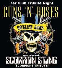 Bild: Reckless Roses – Guns n' Roses Tribute + Scorpion Sting - Scorpions Tribute