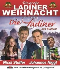 Bild: Die große Südtiroler Weihnacht - Die Ladiner, Nicol Stuffer, Kastelruther Männerquartett