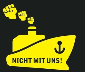 Bild: Nicht mit uns! - Ausfall!!!