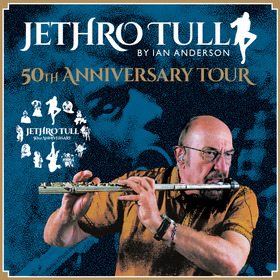 JETHRO TULL by IAN ANDERSON - 50th Anniversary Tour