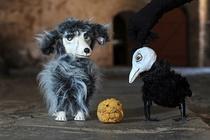 Bild: 24.Kindertheaterfestival 2016 - Figurentheater Blauer Mond - Hund, Krähe und Käse gehen in die Welt