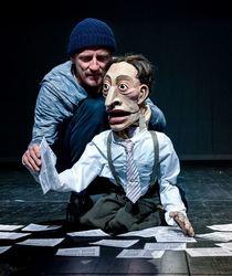Die Schachnovelle - Figurentheater für Erwachsene mit Livemusik nach der Novelle von Stefan Zweig