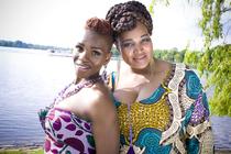 Strangers today – Sisters tomorrow! - Künstler: Balungile Gumede & Nokubonga Khuzwayo