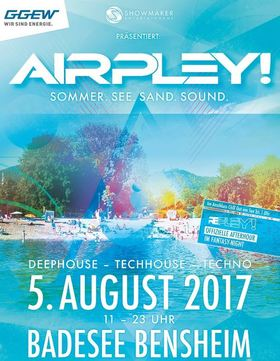 Bild: AIRPLEY! - Sommer. See. Sand. Sound