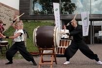 Bild: Traditionelles & japanisches Trommeln - Wadaiko-Workshop für Einsteiger