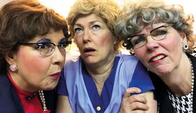 Bild: Hiltrud, Hilde und die Dande Rotraud - Ihne Ihr Dreifaltigkeit
