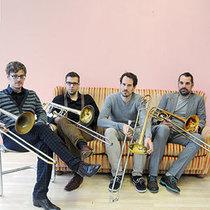 Bild: Vertigo Trombone Quartet - Bernhard Bamert | Andreas Tschopp | Nils Wogram | Jan Schreiner