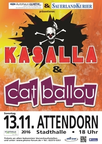 Kasalla & Cat Ballou - Kölschrock der Extraklasse