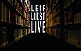Bild: Leif liest Leif - Lesung mit Leif Schmitt & Kollegen