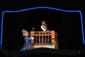 Bild: Frau Krimskrams und der Affe - Figurentheater