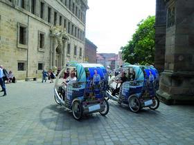 Bild: Velotaxi-Tour Nürnberg