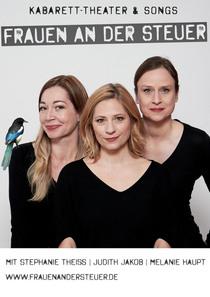 Bild: Melanie Haupt, Judith Jakob & Stephanie Theiß - Frauen an der Steuer