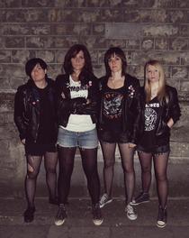 Bild: THE RAMONAS (UK) - Best female Ramones Tribute Band from the UK
