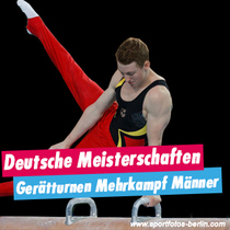 Bild: Deutsche Meisterschaften Gerätturnen Mehrkampf Männer - Internationales Deutsches Turnfest 2017
