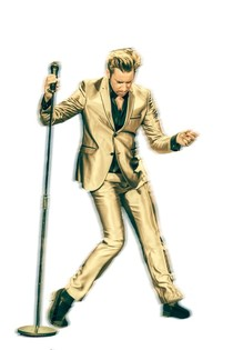 Bild: Elvis in Hollywood