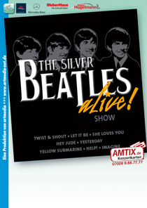 Bild: The Beatles Alive –Show – mit den Silver Beatles