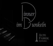 Bild: Dinner im Dunkeln