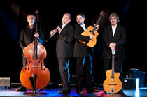 Bild: Joscho Stephan/Helmut Eisel Quartett - Gypsy Swing meets the Klezmer