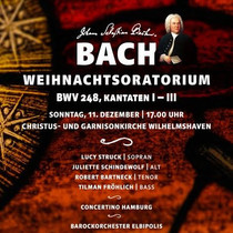 Bild: Johann Sebastian Bach, Weihnachtsoratorium - BWV 248, Kantaten I-III